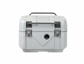 Hepco & Becker GOBI 42 Litre Top Case  (Aluminium Look / Alu Optics)