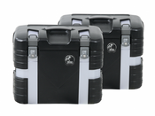 Hepco & Becker GOBI 37 Litre Side Case Set (Black Edition)