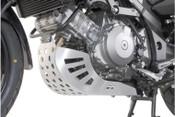 SUZUKI DL1000 V-Strom Hepco & Becker Engine Protection Plate (silver)