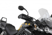 TRIUMPH Tiger 1200 Explorer Hepco & Becker Hand Guard Crash Bars (black)