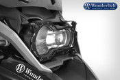 Wunderlich Headlight Protector Foldable »CLEAR« (black) v2