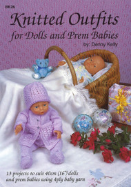 Image for Craft Moods book BK26 Knitted Outfits for Dolls and Prem Babies by Denny Kelly.