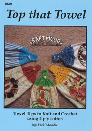Image of Craft Moods book BK04 Top that Towel by Vicki Moodie.
