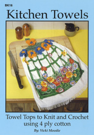 Image of Craft Moods book BK16 Kitchen Towels by Vicki Moodie.