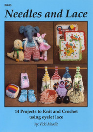 Image of Craft Moods book BK03 Needles and Lace by Vicki Moodie.