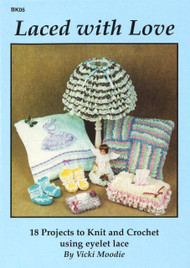 Image of Craft Moods book BK05 Laced with Love by Vicki Moodie.