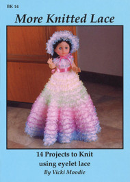 Image of Craft Moods book BK14 More Knitted Lace by Vicki Moodie.