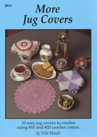 Image for Craft Moods book BK21 More Jug Covers by Vicki Moodie.