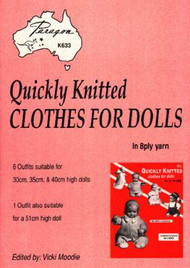 PARK633 Quickly Knitted Clothes for Dolls