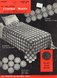 SHPARC109-B  New Every Purpose Crochet Motifs
