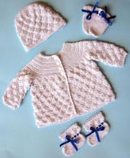 CMPATC072PDF No Seams Baby Set in Cotton