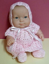 "CMPATC053PDF - Alexia Outfit for 10"" Itty Doll"