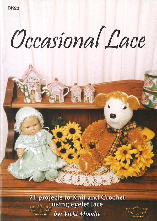 Image for Craft Moods book BK23 Occasional Lace by Vicki Moodie.