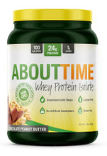 About Time Whey Isolate 2LB Chocolate Peanut Butter