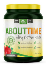 About Time Whey Isolate 2LB Strawberry