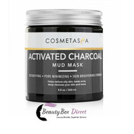 Cosmetasa Activated Charcoal Mud Mask 8.8 oz