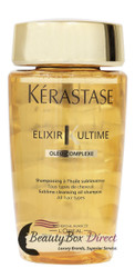 Kerastase Bain Elixir Ultime Sublime Cleansing Oil Shampoo 8.5 oz