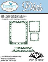Karen Burniston Retired Pop It Up Elizabeth Craft - Katie Holly Frame Edges 905