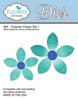 Elizabeth Craft Design Die  - Victorian Flower 1 - 964