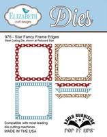 Karen Burniston Pop It Up Elizabeth Craft Design - Star Fancy Frame Edges 976