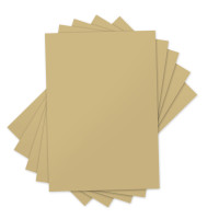 "Sizzix Inksheets - 4"" x 6"" Transfer Film 5 Gold Sheets 660544"