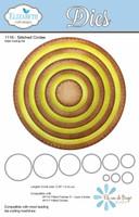 Elizabeth Craft Designs - Stitched Circles 1116