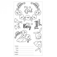 Sizzix Clear Stamps Sweet Baby - 660639