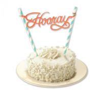 Sizzix Thinlits Die Set - Cake Topper 660892
