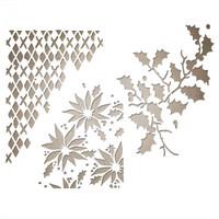 Sizzix Thinlits Die Set 3PK - Mixed Media Christmas 661602