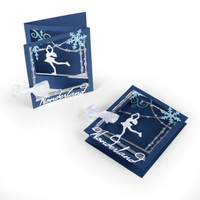 Sizzix Thinlits Die Set 12PK - Tri-fold Card Ice Skater 661558