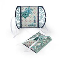 Sizzix Thinlits Die Set 8PK - Gatefold Card Snowflakes 661393