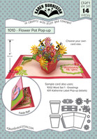 Karen Burniston - Flower Pot Pop Up Die Set 1010