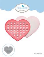 Elizabeth Craft Designs Joset - Heart Cutouts 1457