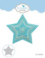 Elizabeth Craft Designs Joset - Fitted Stars 1452