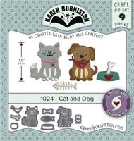 Karen Burniston - Cat & Dog 1024