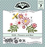 Karen Burniston - Flowers & Bee 1026