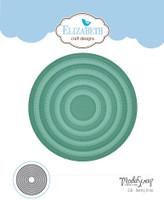 Elizabeth Craft Designs Moda Scrap - Dashing Circles 1506