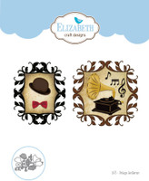 Elizabeth Craft Designs Becky - Vintage Gentleman 1473