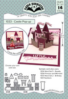 Karen Burniston - Castle Pop Up Die Set 1033