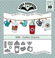 Karen Burniston - Coffee Charms 1041