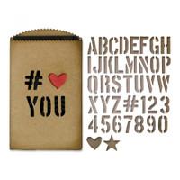 Sizzix Thinlits Die Set 40PK  TH - Gift Card Bag 662687
