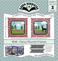 Karen Burniston - Fancy Flourish 1044