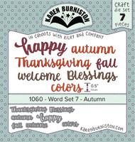 Karen Burniston - Word Set 7 Autumn