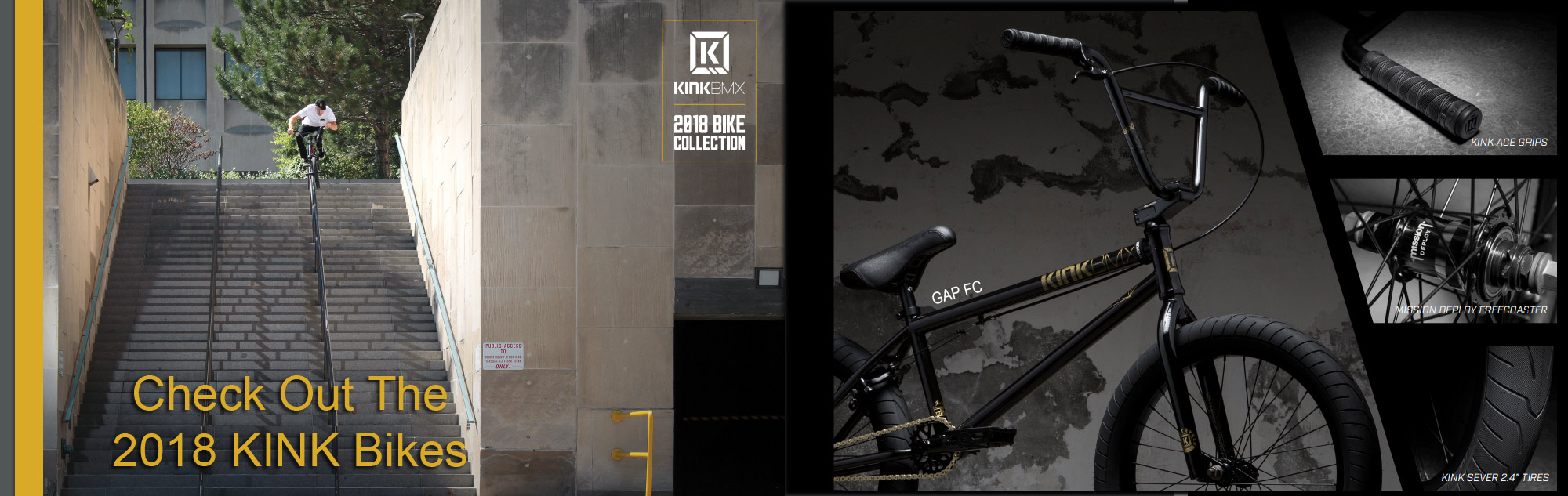 2018 Kink BMX Bikes Now Available at Albe's BMX Bike Shop