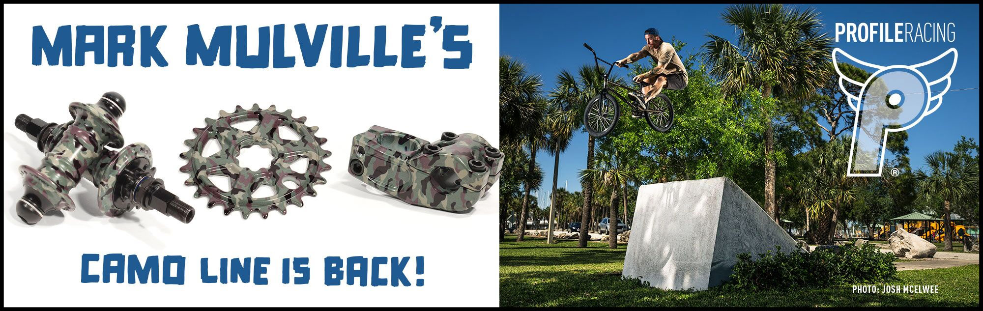 Profile Racing Limited Edition Camo Parts at Albe's BMX