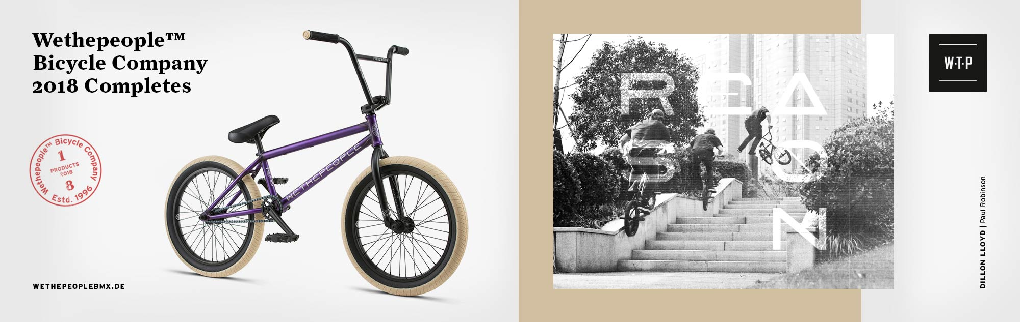 WeThePeople 2018 BMX Biikes at Albe's BMX Bike Shop