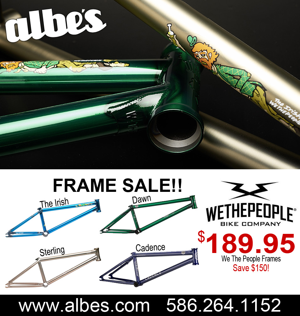 WE The People BMX Frames for $189! - Albe\'s BMX