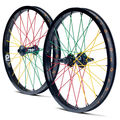 Primo Limited Edition Rasta Wheel Set Albe S Bmx