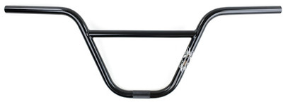 Kink BMX Grizzly Handle Bars in Black at Albe's BMX Bike Shop