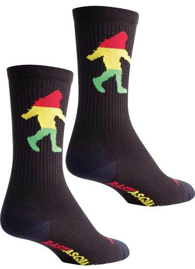 Sock Guy Rasta Socks at Albe's BMX Bike Shop Online